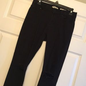 Black Holey Jeans